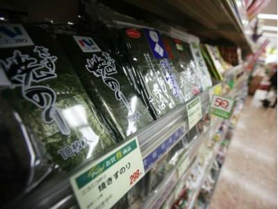 """日媒:气候变暖导致日本""""海苔荒"""" 不足部分依赖从中韩进口"""