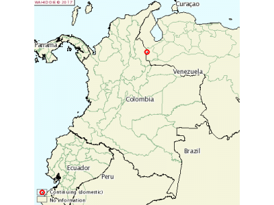 哥伦比亚坦德省发生口蹄疫疫情