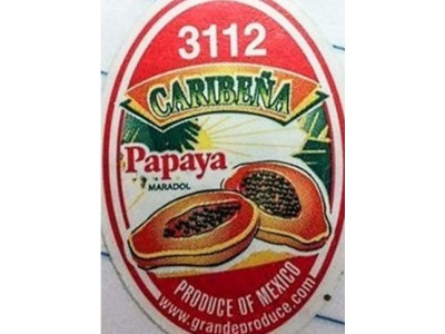 美国Grande Produce宣布召回进口自墨西哥的木瓜