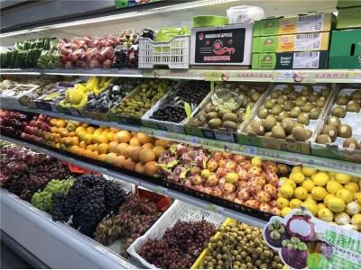西安洋水果身价不菲 几块钱国产瓜贴标卖到70