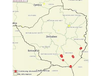 津巴布韦发生11起牛口蹄疫疫情