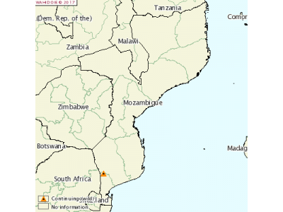 莫桑比克发生炭疽疫情