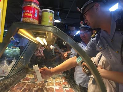 上海人大代表夜访家乐福:冷藏温度远不达标一货柜熟食全销毁