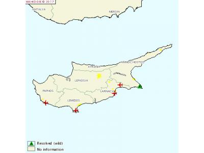 塞浦路斯发生H5N8高致病性禽流感疫情
