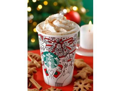 日本星巴克推出树莓白巧克力系列圣诞新饮品