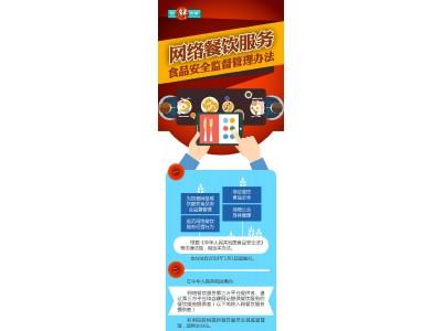 图解政策:网络餐饮服务食品安全监督管理办法
