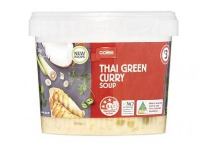 澳大利亚召回泰式绿咖喱汤