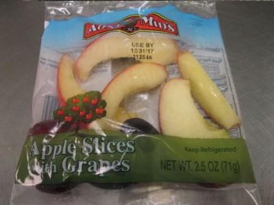 美国召回受李斯特菌污染的苹果产品