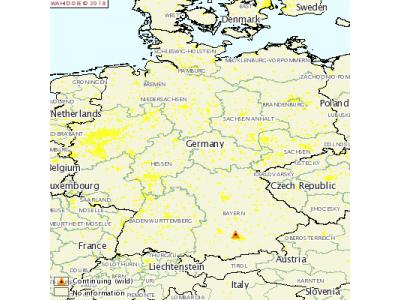 德国发生H5N6高致病性禽流感疫情