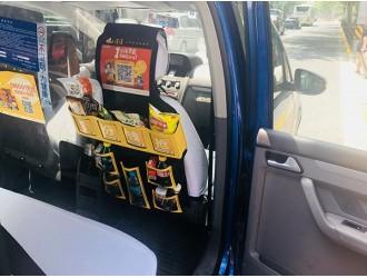 上海叫停出租车上卖饮料零食:无经营资质,后续将研究可行性