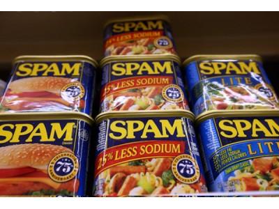因消费者发现罐头内存金属碎片 SPAM午餐肉在美召回