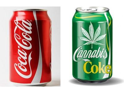 可口可乐与大麻公司谈生产大麻饮料