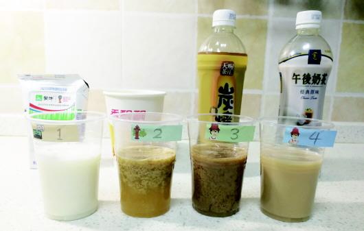 奶茶含不含奶用醋就能鉴别? 专家称并不靠谱