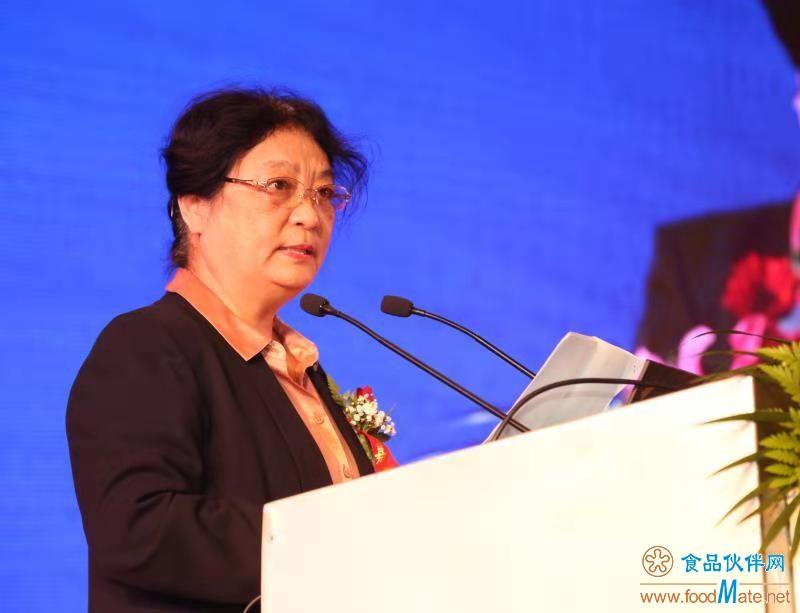 中国食品科学技术学会孟素荷理事长开幕式致辞