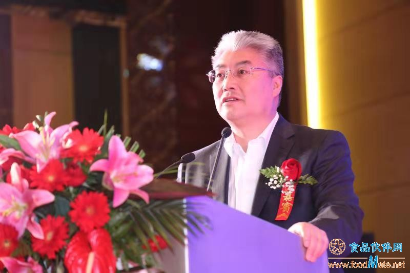 中国海洋大学校长于志刚教授致辞