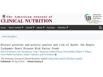 新证据表明大量食用富含动物蛋白的饮食可能会增加死亡风险