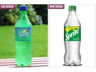 可口可乐宣布:将雪碧标志性绿瓶变全透明