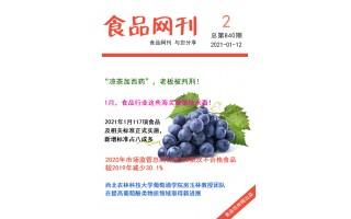 食品伙伴网食品网刊2021年第840期(2021.1.12)
