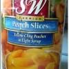 糖水黄桃块