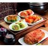 腌渍的蔬菜|韩国泡菜的做法|萝卜泡菜天然色素