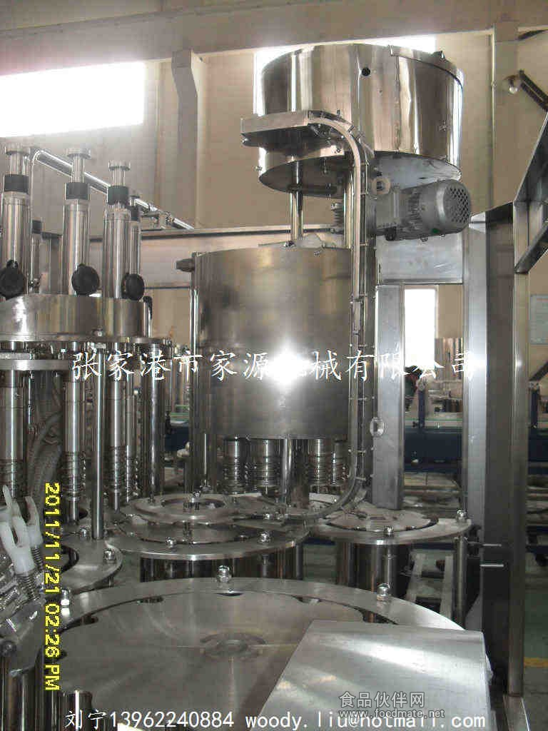 茶叶萃取饮料生产线_果汁灌装机