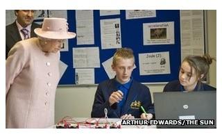 英国女王学校就餐鼓励健康饮食