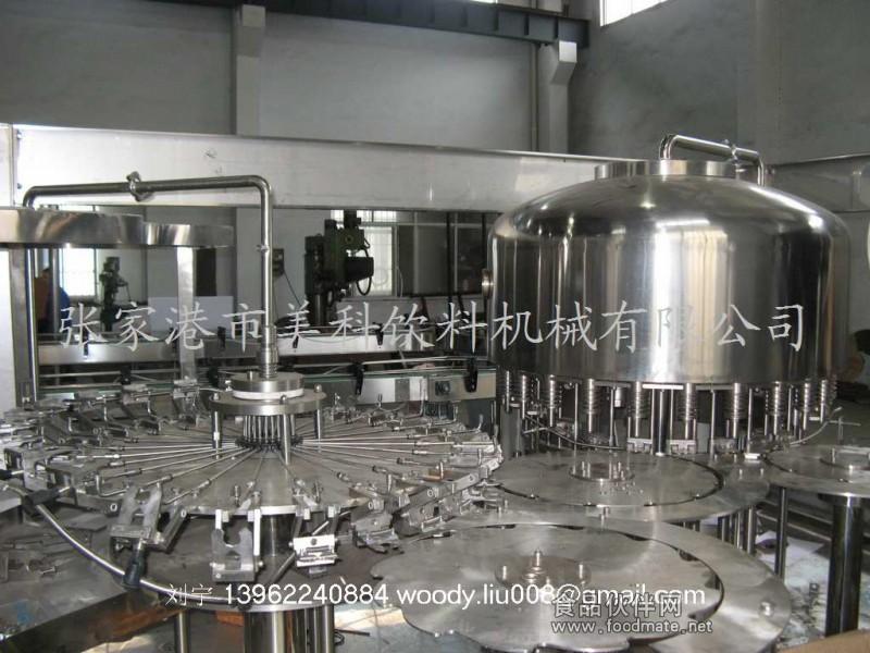 全自动瓶装矿泉水灌装生产线