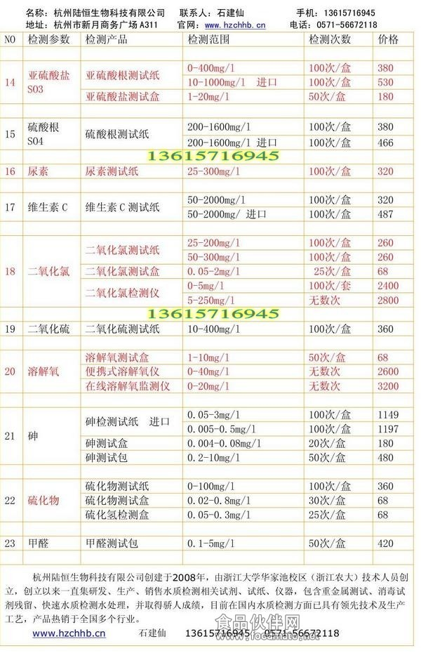 总铁比色管 速测盒 0.2-10ppm 测试包 Fe2+\/3+