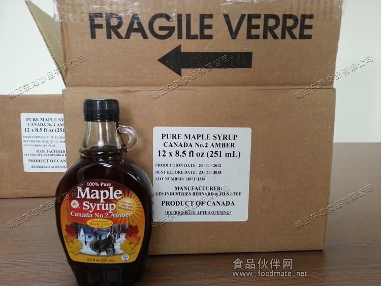 原装进口100%枫糖浆枫树糖浆25kg
