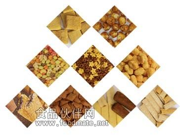图纸供应膨化机_加工设备_玉米机械设备_挤压钢挂食品图片