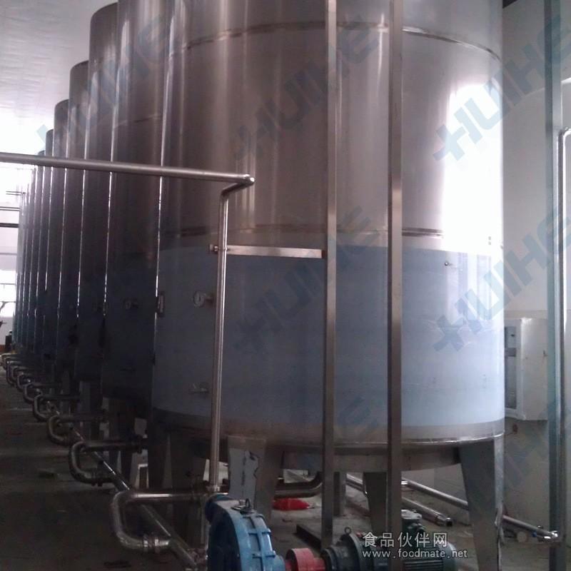 储存罐结构图 不锈钢储存罐技术参数