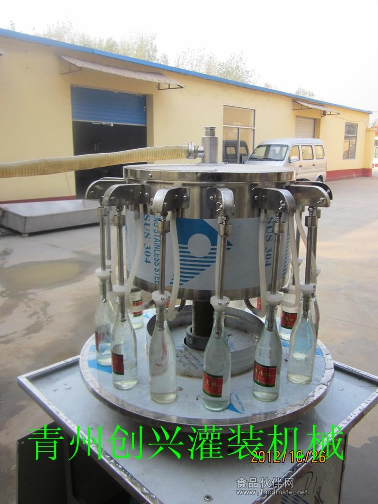 /自吸式玻璃水灌装机