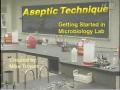 微生物实验无菌技术 (398播放)