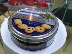 包装 香港 铁盒/曲奇饼干铁盒 圆形熊仔饼铁盒包装 香港蛋卷包装罐