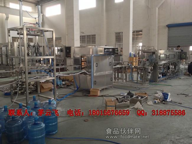 150桶/时以下桶装水生产线可以配置