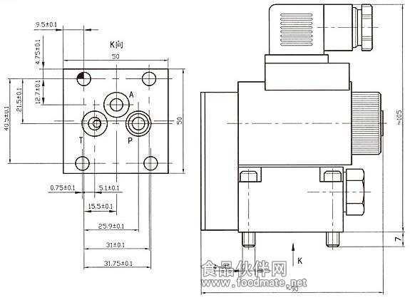 液压油用电磁阀 高压电磁阀