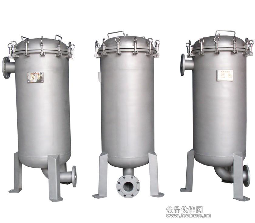 不锈钢桶式正压过滤器(负压过滤器)