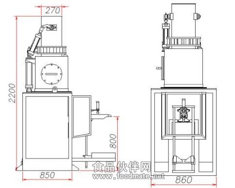 茶叶真空包装机原理电路图