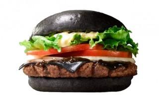 日本汉堡王将推出纯黑汉堡