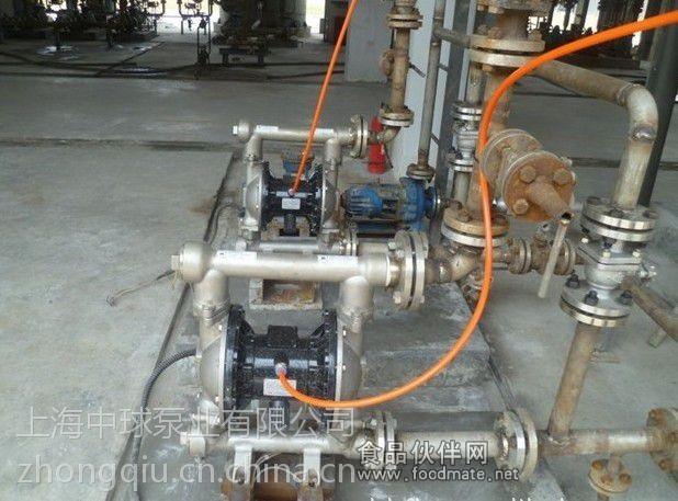 qby-40不锈钢气动隔膜泵图片