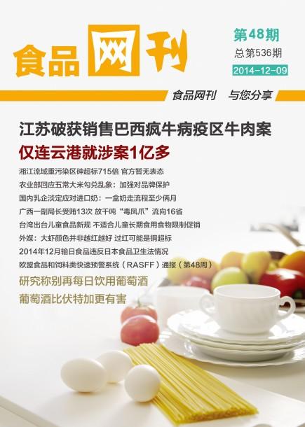 食品网刊2014年第536期