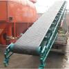 10米长加厚耐磨皮带输送机 袋装大米运输机 装车输送机