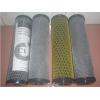 厂家供应黄网整体成型活性炭纤维滤芯