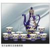 景德镇开业庆典酒具,陶瓷商务品自动酒具