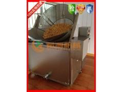 好用炸油豆腐设备 节能豆泡油炸专用油炸锅