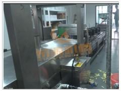 复合薯条油炸机器 自动休闲食品油炸生产线