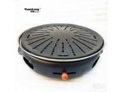 商用烤肉机韩国进口铸铁碳烤炉韩式碳烤炉烤肉炉木炭烤炉家