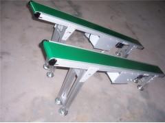铝型材皮带机 各种长度的铝型材皮带机 加挡边防滑输送机