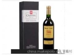 卡斯特佳酿美露干红价格、卡斯特批发、法国红酒