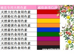 裱花 色素替代|奶油色素搭配表